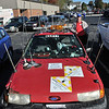 Hamfest in Belton, Mo. Ham car with lots of antennas